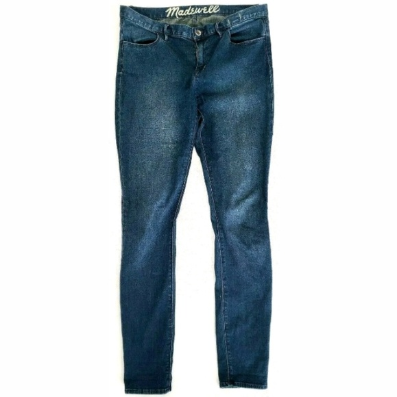 Madewell Denim - Madewell Womens Jeans Skinny Stretch Dark Wash